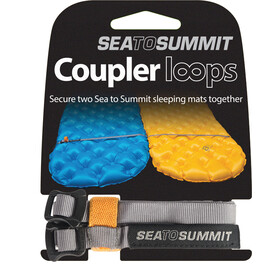 Sea to Summit Mat Coupler Kit Lazos de unión, grey